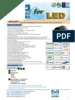 EtraLED-11080 Modular Passive LED Star Heat Sink Φ110mm