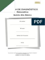 P. Diagnostico Matemática 7° Básico