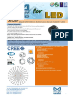 EtraLED-CRE-13080 Cree Modular Passive Star LED Heat Sink Φ130mm