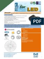 EtraLED-LG-8550 LG Innotek Modular Passive Star LED Heat Sink Φ85mm