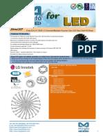 EtraLED-LG-13020 LG Innotek Modular Passive Star LED Heat Sink Φ130mm