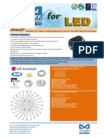 EtraLED-LG-11080 LG Innotek Modular Passive Star LED Heat Sink Φ110mm