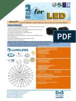 EtraLED-LUM-9650 for LumiLEDs Modular Passive Star LED Heat Sink Φ96mm