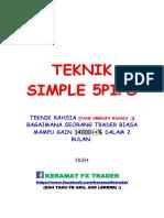 Teknik Simple 5pips 1