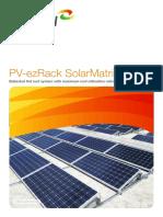 Brochure PV EzRack SolarMatrix LR