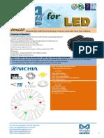 EtraLED-NIC-4850 Nichia Modular Passive Star LED Heat Sink Φ48mm