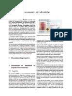 Documento de Identidad - Argentina