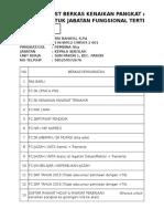 Chek List Naik Pangkat