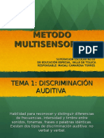 METODO MULTISENSORIAL