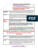 JustPMP PMP Application Spreadsheet