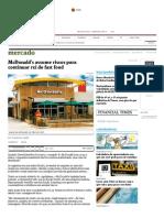 McDonald's Assume Riscos Para Continuar Rei Do Fast Food - 13-03-2017 - Mercado - Folha de Sao Paulo