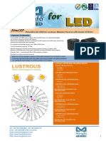 EtraLED-LUS-7080 for Lustrous Modular Passive LED Cooler Φ70mm