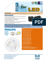 EtraLED-PHI-7050 for Philips Modular Passive Star LED Heat Sink Φ70mm