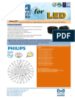 EtraLED-PHI-9650 for Philips Modular Passive Star LED Heat Sink Φ96mm