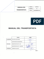 D-OPR-01 V01 Manual Del Transportista