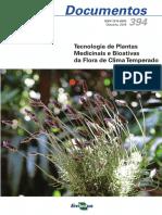 Doc394 Tecnologia de Pl Med Bioativas Da Flora de Clima Temperado