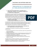5tarea Capítulo 3 Preguntas de El Proceso de Preparacion y Evaluacion de Proyectos (1)