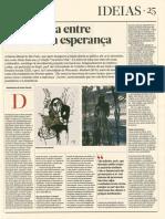 A Incerteza Entre o Medo e a Esperança - Boaventura de Sousa Santos