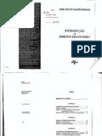 Introdução Do Direito Financeiro - José Souto Maior Borges