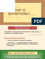 # What is Advertising (1)