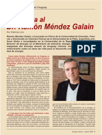 Entrevista a Ramón Méndez. Energía