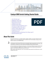 Cisco Catalyst 3650 Started Guide