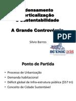 1 - Verticalização e Adensamento X Cidade Sustentável - Sílvio Barros