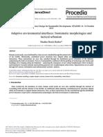 Adaptive Environmental Interfaces