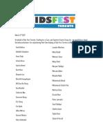 kids fest toronto letter feb 18- volunteering peel