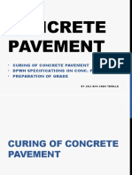 Concrete Pavement (Highway Engineering)