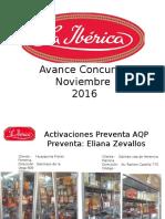 Avance Concurso Noviembre 2016 - 2