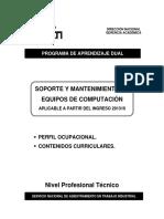 Soporte y Mantenimiento de Equipos de Computación 201310 - VI Semestre