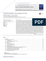 Surfactant Adsorption to Soil Components and Soils