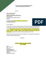 Carta Coordinadores