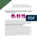 Aclaraciones Sobre Matrimonio y Uniones de Hecho Homosexuales