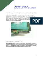 REPORTE TECNICO FALLA PANEL SONY KDL 32M3000.pdf