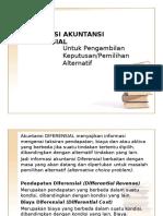 5. Informasi Akuntansi Diferensial