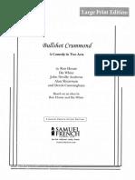 Bullshot Crummond Script