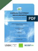 Carbon Footprint Methodology