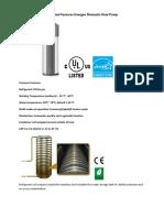 Energen 300 Liter Heat Pump