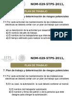 NOM 029 STPS 2011 Plan de Trabajo