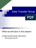 Data Transfer Groups