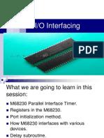 I O Interfacing