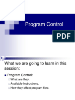Program Control Group