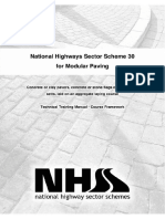 National Highways Sector Scheme 30 Flexible