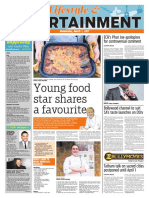 Young food star shares a favourite - Original Arts - 1 March 2017