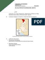 Datos General Del Proyecto de Irrigación