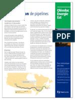 Énergie Est Construction de Pipelines