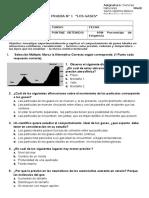 PRUEBA Ciencias GASES 7º Basico