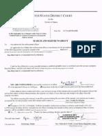 Kelihos Botnet –  Search Warrant